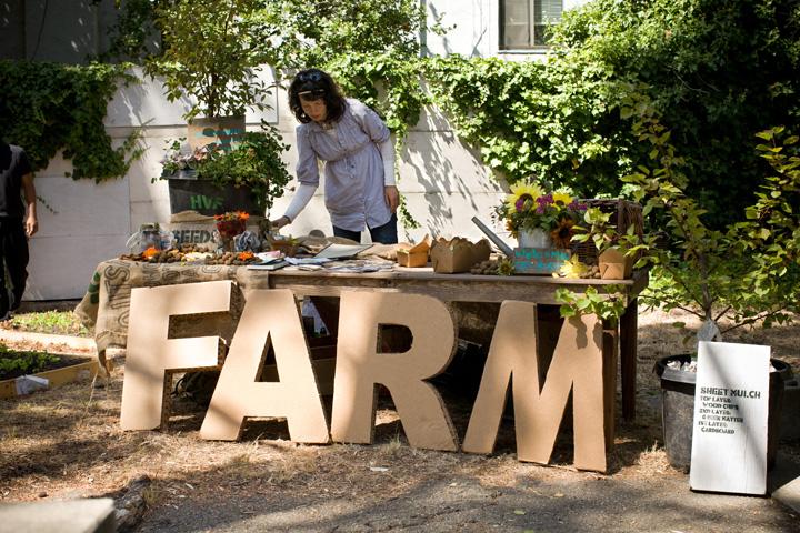 Hayes Valley Farm at Berkeley Art Museum for OPEN Restaurant