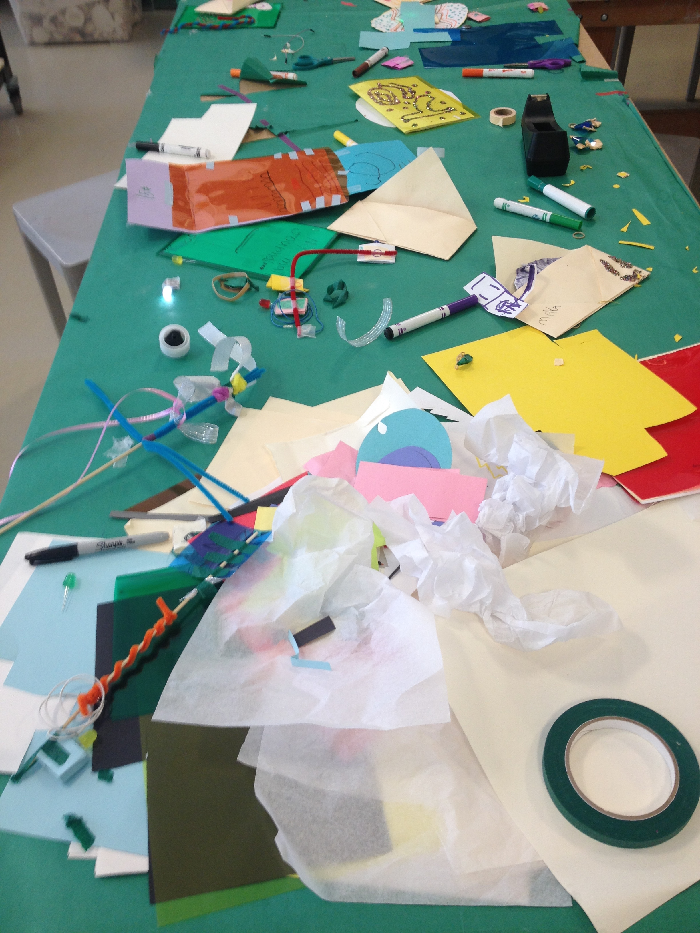 Two Weeks of Electonic Art with Youth at the Palo Alto Art Center